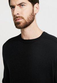 Benetton - Stickad tröja - black - 5