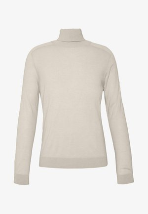 ROLL NECK - Stickad tröja - light beige