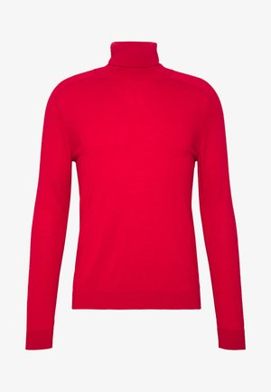 ROLL NECK - Pullover - red