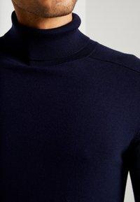Benetton - ROLL NECK - Trui - dark blue - 5
