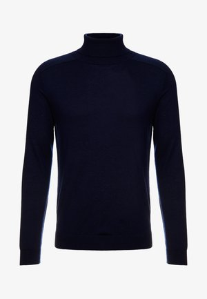 ROLL NECK - Jumper - dark blue