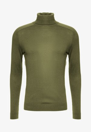 ROLL NECK - Pullover - olive