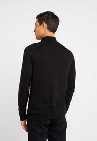 Benetton - ROLL NECK - Stickad tröja - black - 2