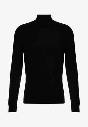 ROLL NECK - Strickpullover - black