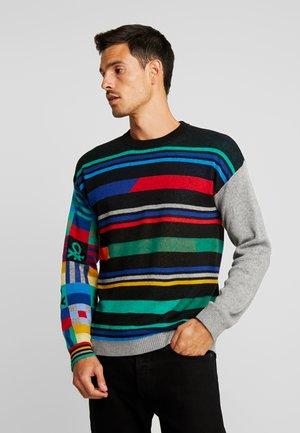 Pullover - black/multicolor