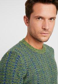 Benetton - Stickad tröja - blau grün - 4