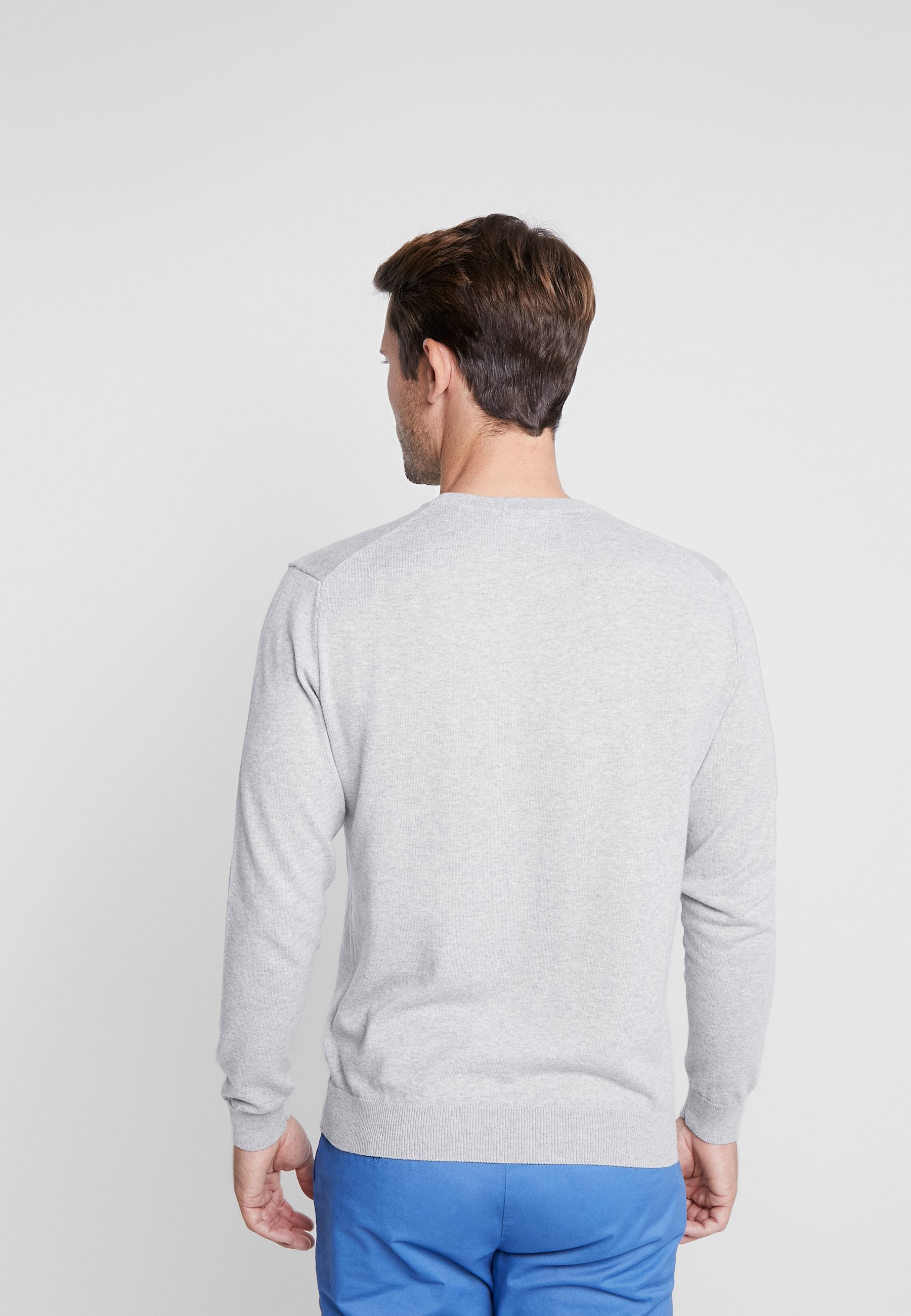 Benetton Jumper - Light Grey