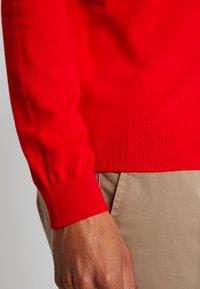 Benetton - Stickad tröja - red - 3