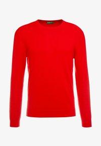 Benetton - Stickad tröja - red - 4