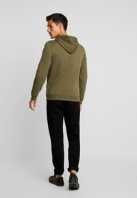 Benetton - Zip-up hoodie - olive - 2