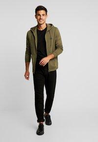 Benetton - Zip-up hoodie - olive - 1