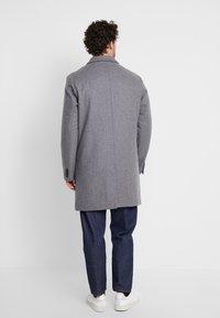 Benetton - Short coat - melange dark grey - 2