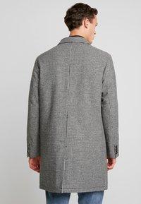 Benetton - Zimní kabát - black/white - 2