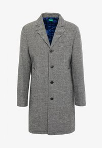 Benetton - Zimní kabát - black/white - 4