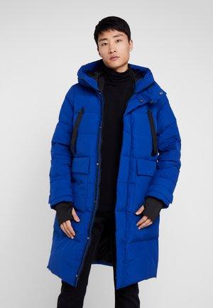 Down coat - blue