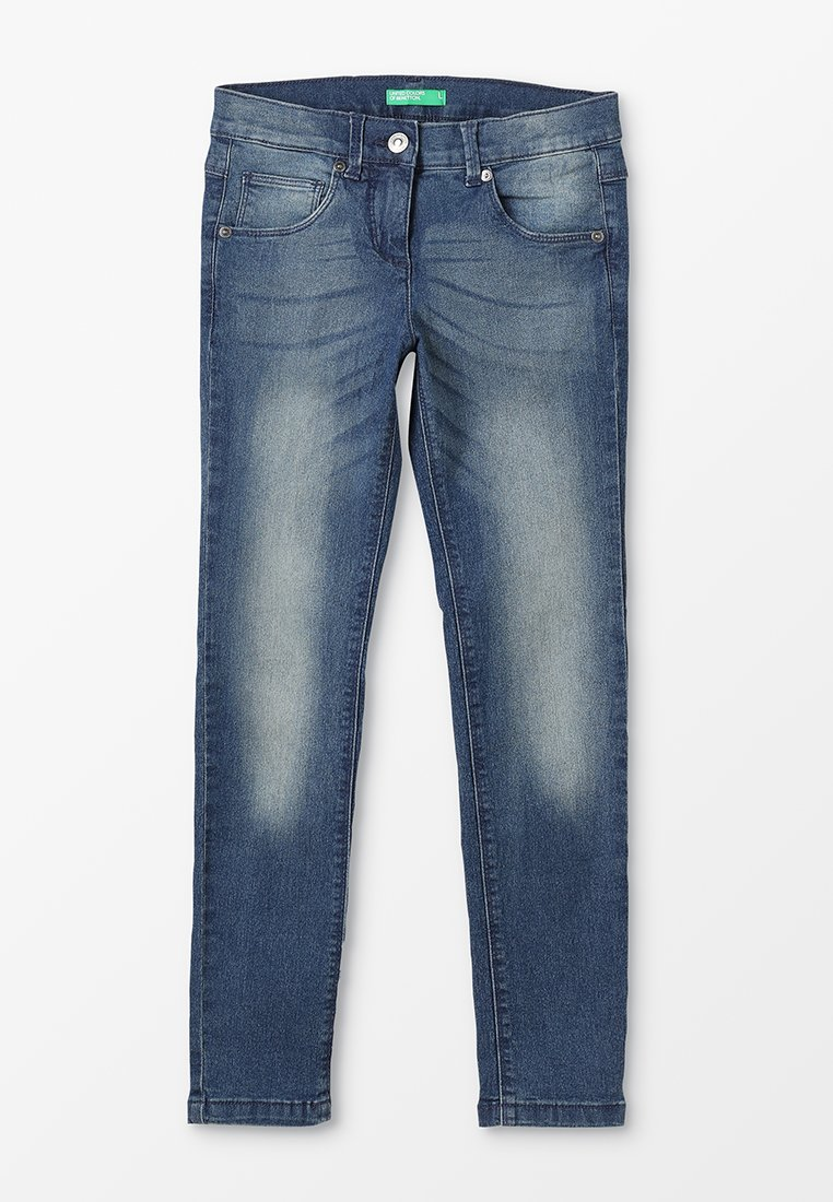 Benetton - TROUSERS BASIC - Jeans Skinny Fit - rot