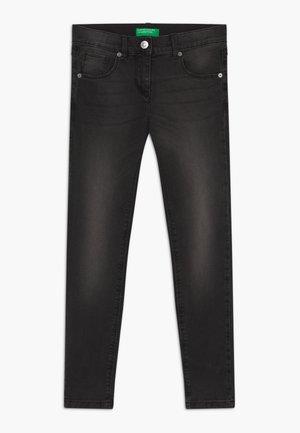 TROUSERS BASIC - Jeans Skinny - black denim