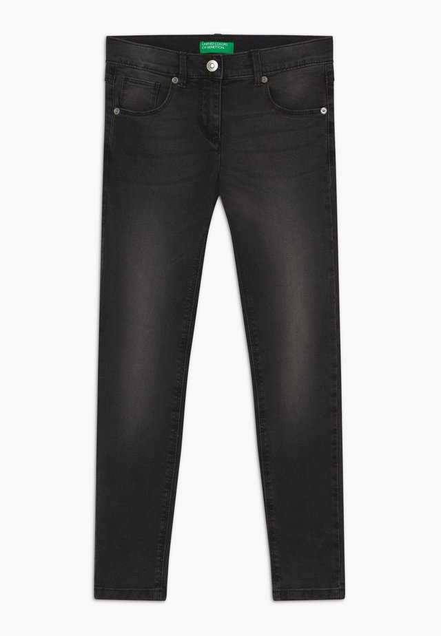 TROUSERS BASIC - Jeans Skinny Fit - black denim