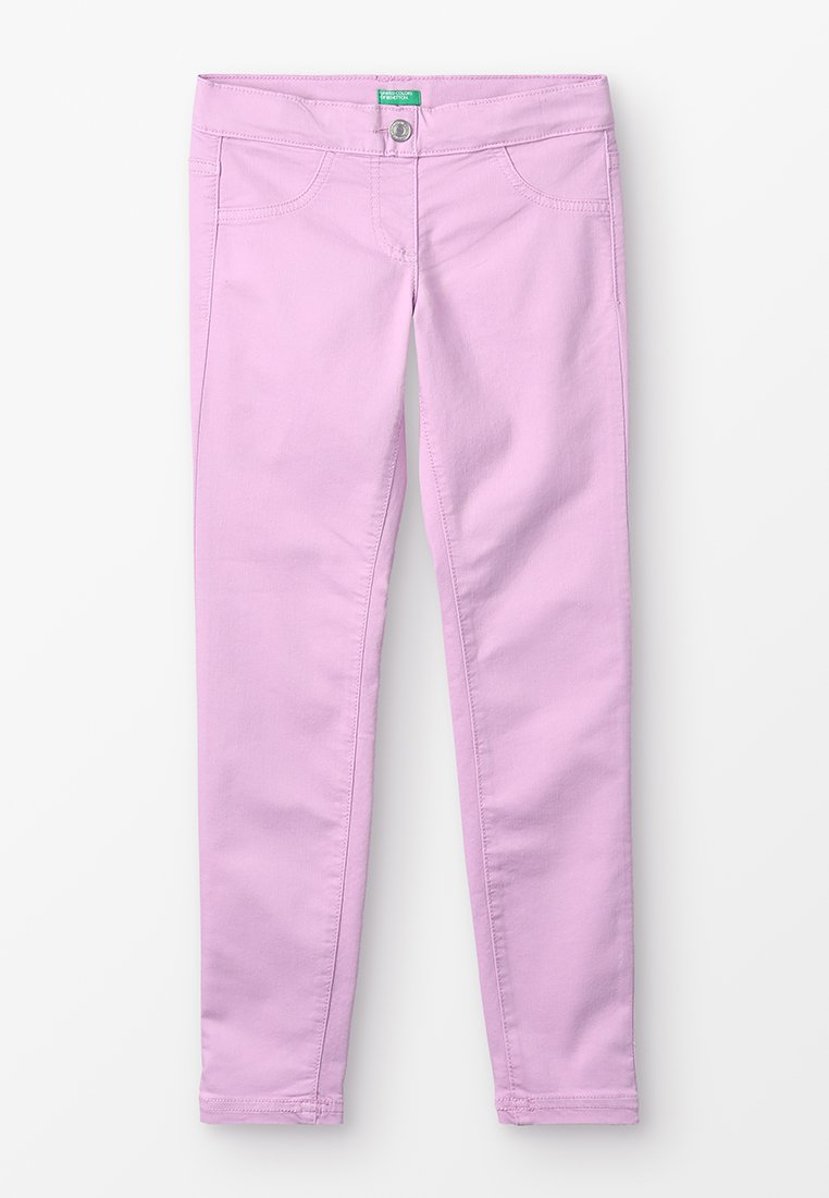 Benetton - TROUSERS BASIC - Jeans slim fit - lilac