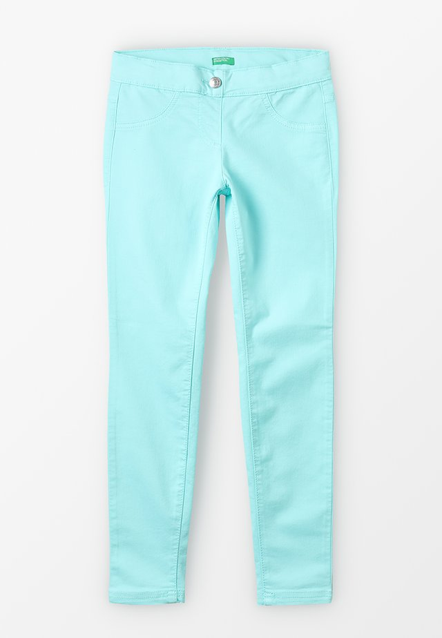 TROUSERS - Jeans Skinny Fit - turquoise
