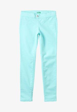 TROUSERS - Skinny džíny - turquoise