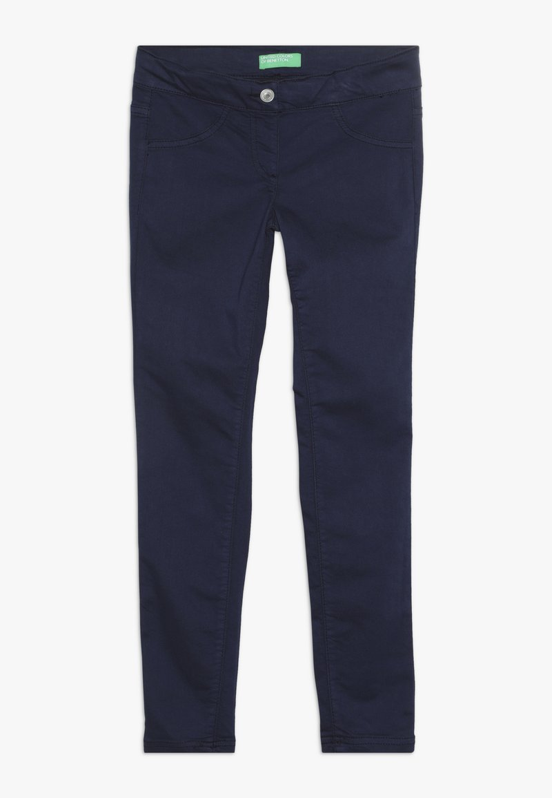 Benetton - TROUSERS - Jeansy Skinny Fit - dark blue