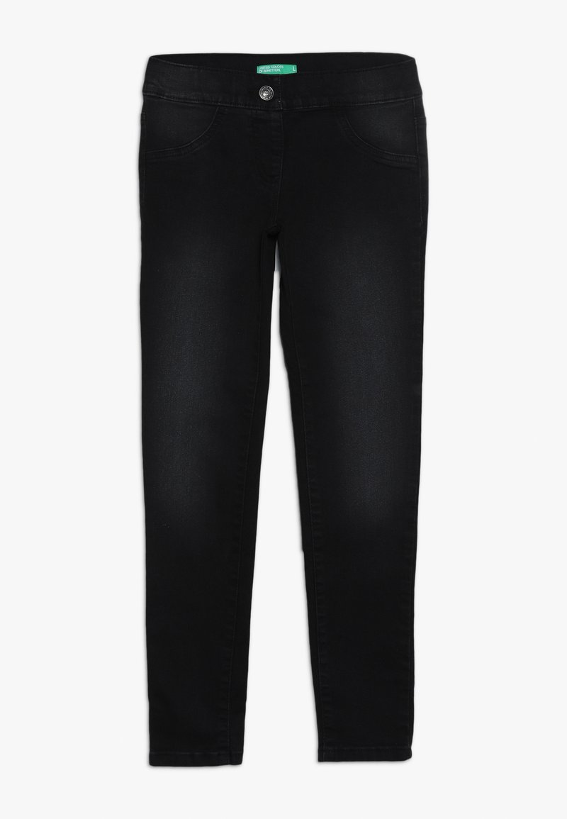 Benetton - TROUSERS - Jeansy Skinny Fit - black