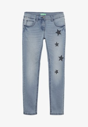 TROUSERS - Slim fit jeans - light blue
