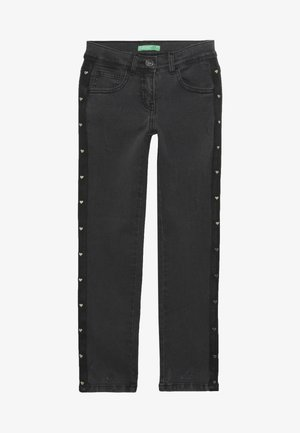 LONG TROUSERS - Vaqueros pitillo - grey