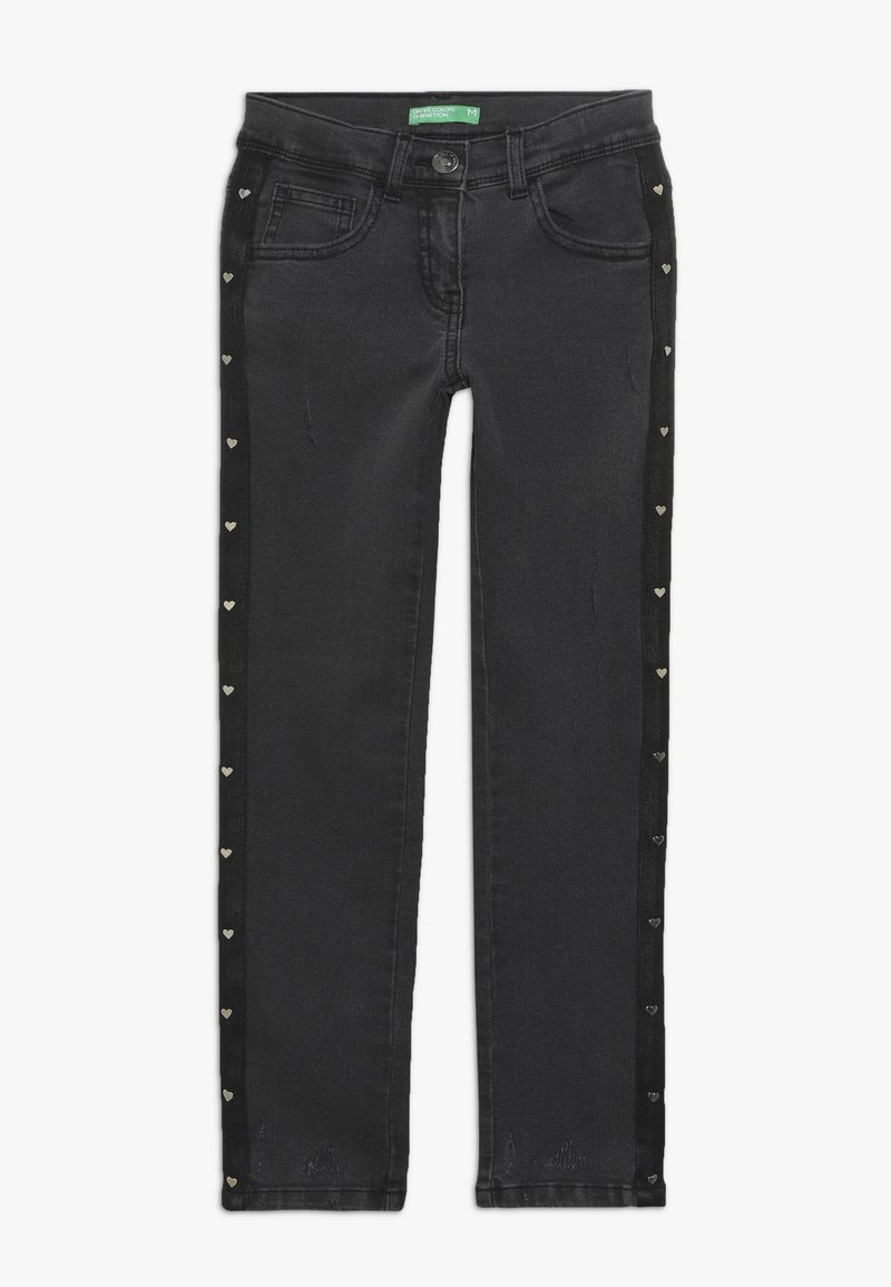 Benetton - LONG TROUSERS - Jeans Skinny Fit - grey