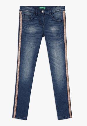 LONG TROUSERS - Jeans Skinny Fit - blue denim