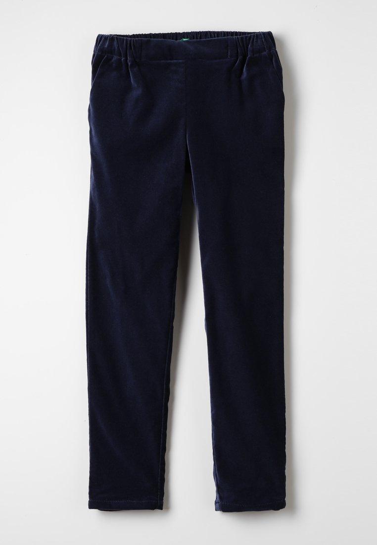 Benetton - TROUSERS - Pantalon classique - dark blue