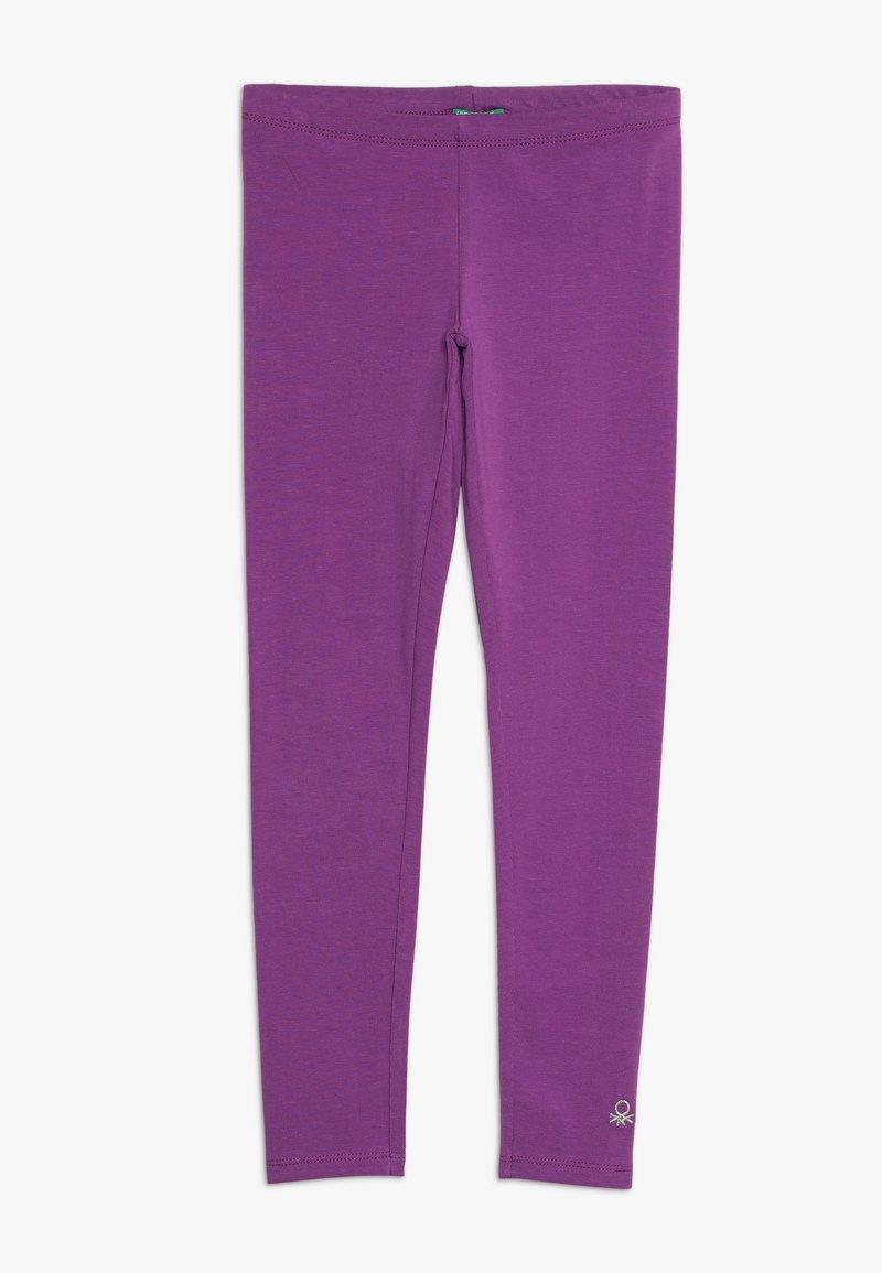 Benetton - Leggings - purple