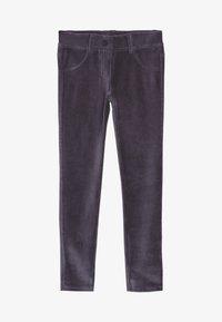 Benetton - TROUSERS - Spodnie materiałowe - grey - 2