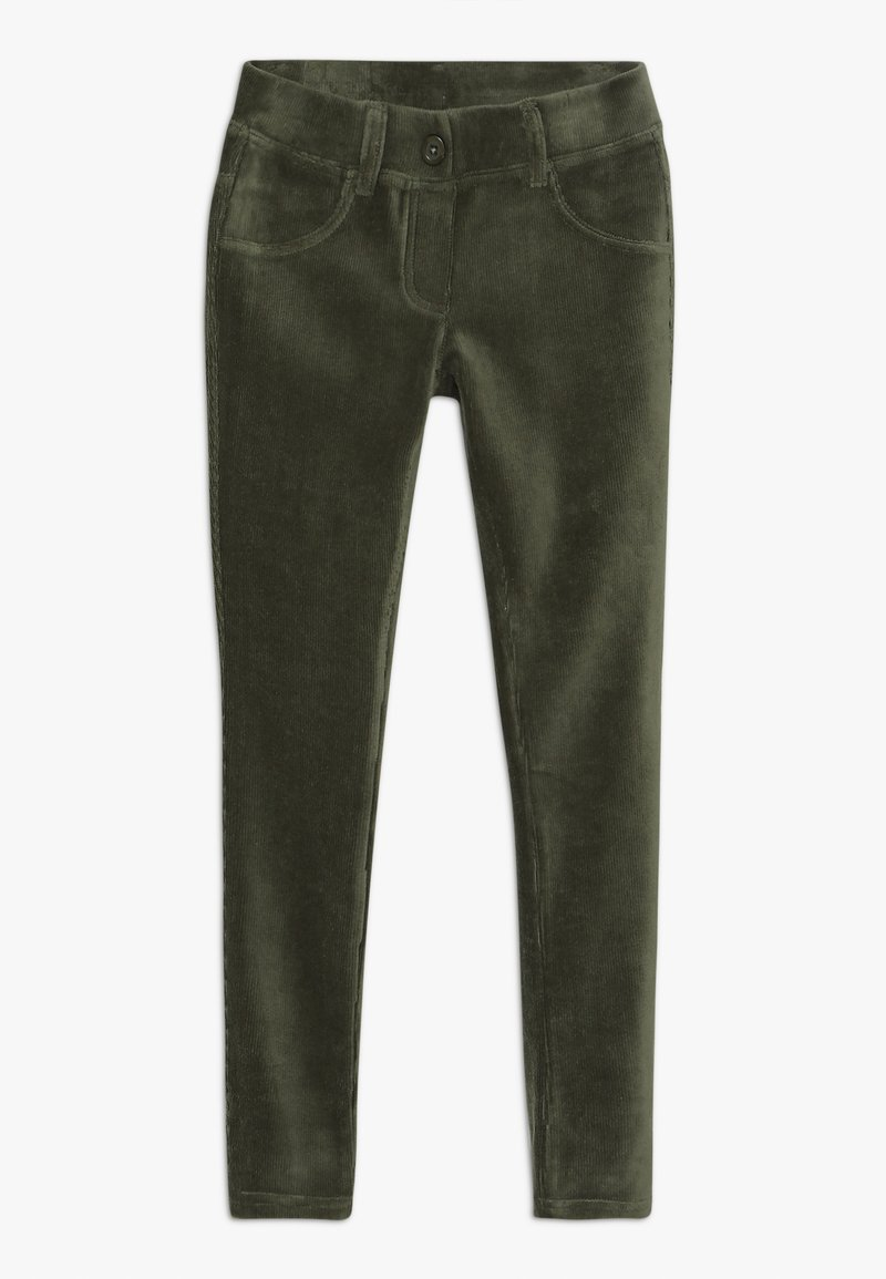 Benetton - TROUSERS - Stoffhose - green