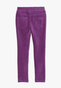 Benetton - TROUSERS - Kangashousut - purple - 1