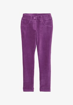 TROUSERS - Trousers - purple