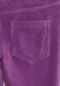 Benetton - TROUSERS - Kangashousut - purple - 4