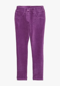 Benetton - TROUSERS - Kangashousut - purple - 0