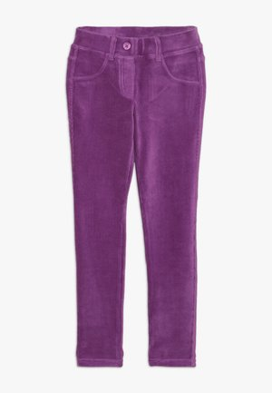 TROUSERS - Kangashousut - purple