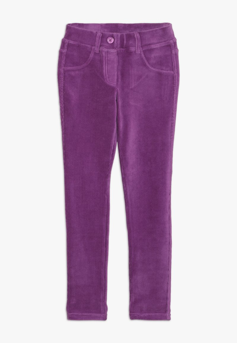Benetton - TROUSERS - Pantaloni - purple