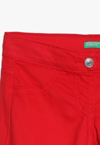 Benetton - TROUSERS - Tygbyxor - red - 3