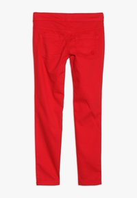 Benetton - TROUSERS - Tygbyxor - red - 1