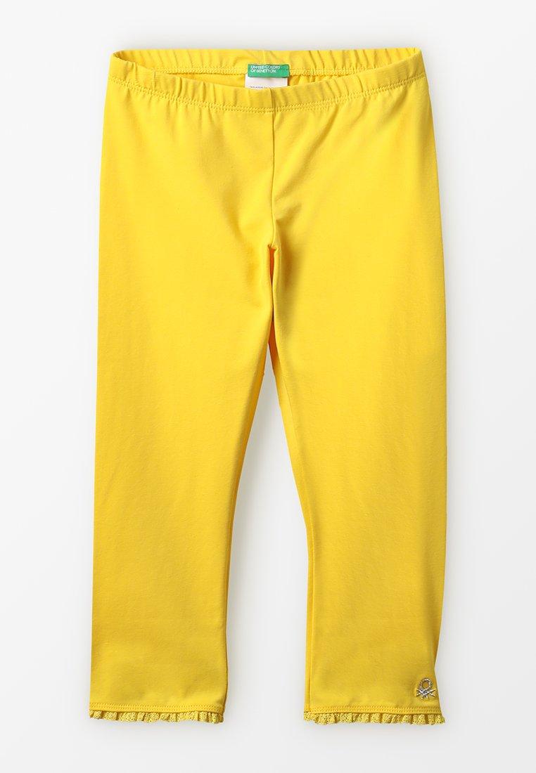Benetton - BASIC - Leggings - yellow