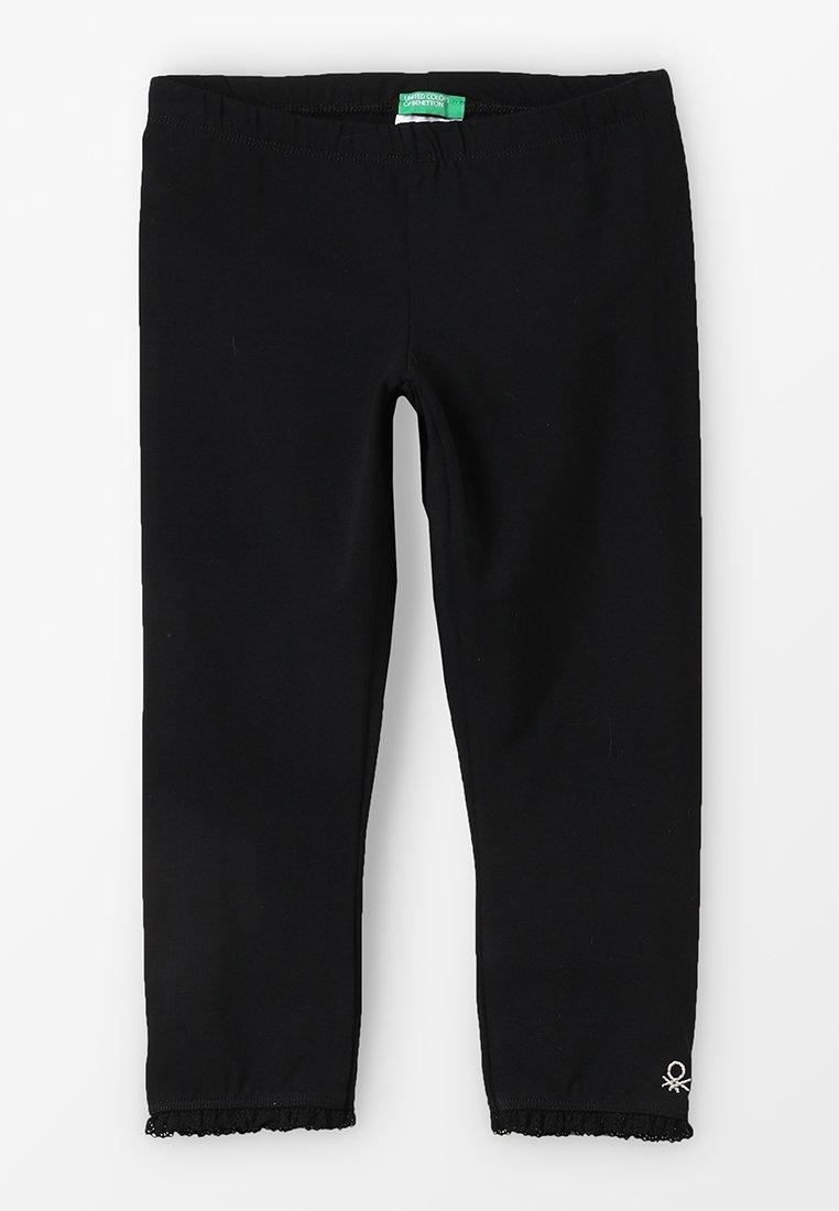 Benetton - BASIC - Leggings - Trousers - black