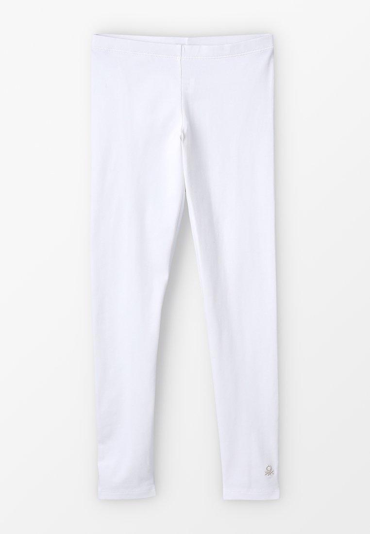 Benetton - BASIC - Leggings - white