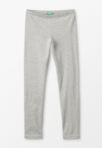 Benetton - BASIC - Legginsy - grey - 0