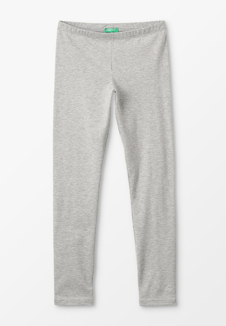Benetton - BASIC - Legginsy - grey
