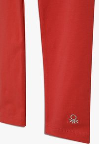 Benetton - BASIC - Leggings - red - 2