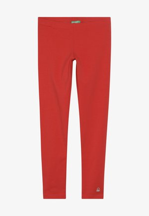 BASIC - Leggings - Trousers - red